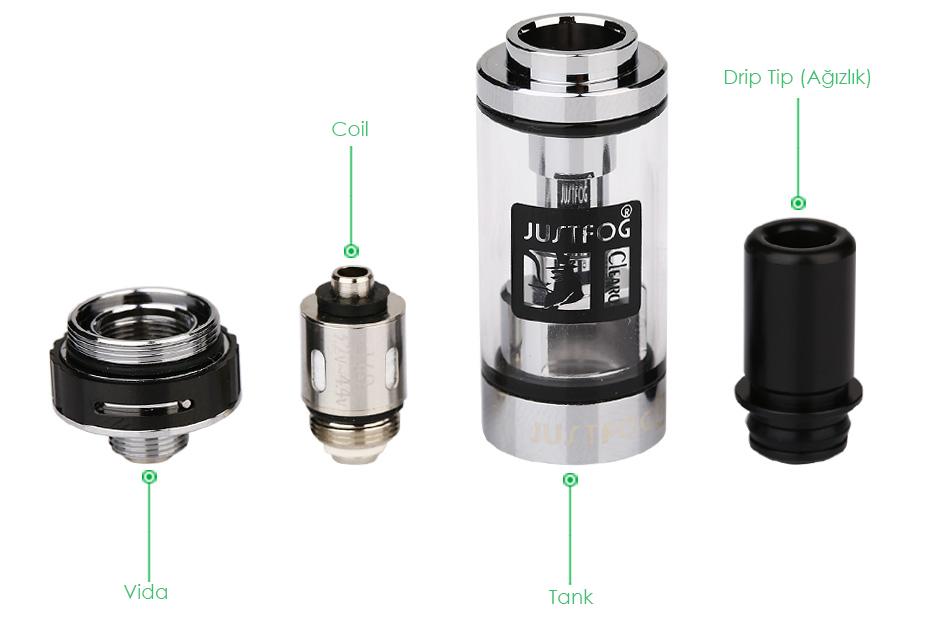 JUSTFOG Q16 Starter Kit Atomizer